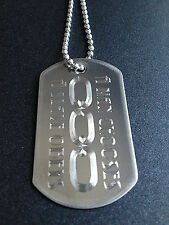 BioShock A Man Chooses A Slave Obeys Dog Tag Necklace Video Game bio shock