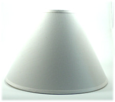 OFF-WHITE LINEN LAMPSHADE 14""