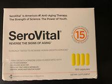 Serovital-HGH 120 Caps, Exp: 10/22, NEW Sealed Box, Slightly Damaged Box Side