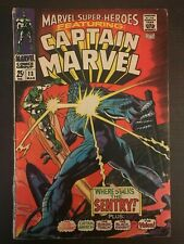 Marvel Super Heroes #13 1968 first printing Comic Book 1st Ms Marvel Captain