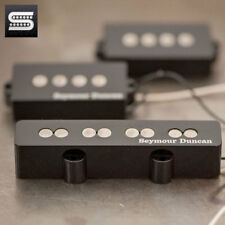 NEW Seymour Duncan Quarter Pound Bass PJ Set Bridge/Neck Pickup - BLACK