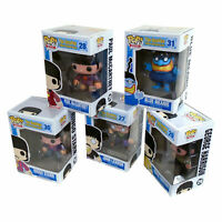 RARE Complete Set of Beatles Funko Pop Vinyls New in Near Mint Boxes + P/P