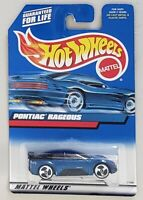 HOT WHEELS PONTIAC RAGEOUS DIE-CAST VEHICLE COLLECTOR #119 MATTEL 2000
