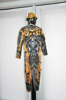 Transformers Bumblebee Stinger Reversible Muscle Costume Size 8 Medium New 2014