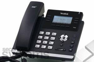 "Yealink SIP-T42G IP-Telefon SIP Standard LCD-Farbdisplay 2,7"" Schwarz"