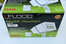 New listing Rab Ffled Flood Light Ffled 26W /D10 Dimmable - White Finish 5000K