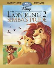 DISNEY THE LION KING 2 SIMBAS PRIDE(BLU-RAY+DVD+DIGITAL HD)W/SLIP COVER NEW
