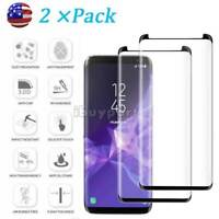 Tempered Glass for Samsung Galaxy S9 S8 Plus Note 8 9 S8 Screen Protector 2×pack