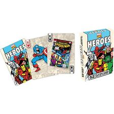 Marvel Heroes Retro Playing Cards Deck