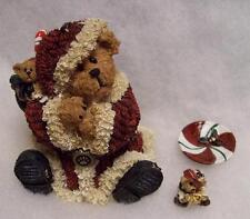 Boyds Treasure Box Kringlebear W/ Wrapper, Christmas 1E