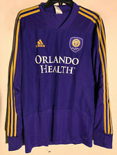 Adidas Long Sleeve MLS Jersey Orlando City Team Purple sz M