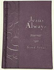 1 new Jesus Always Journal by Sarah Young purple leather gift devotional Calling