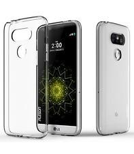 Funda de gel TPU carcasa protectora silicona para LG Optimus G5 Transparente