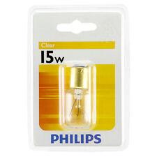 Philips B15 BAYONET Pilot 15W Light Bulb for sewing machine fridge microwave