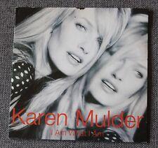Karen Mulder, i am what i am, CD single