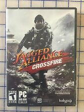 JAGGED ALLIANCE CROSSFIRE PC-DVD * BRAND NEW ORIGINAL SEALED PRODUCT *