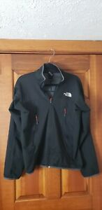 The North Face mens Summit Series Black Jacket 2 Zip Pockets Size Small