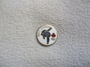 2020 Tokyo - Canada Judo Association pin model-3