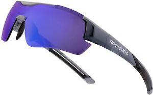 ROCKBROS Bike Sunglasses Polarized Outdoor Sports Cycling Glasses UV400 Eyewear