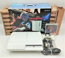 Sony PlayStation PS3 Devil May Cry 4 White Console NTSC-J JAPANESE TESTED BOXED