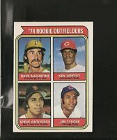1974 Topps # 598 Rookie Outfielders Ex-Mt