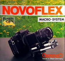 Novoflex Macro-System Prospekt brochure - (0464)