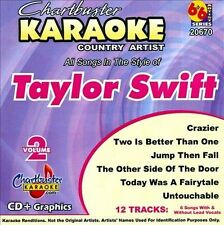 Chartbuster Karaoke: Taylor Swift, Vol. 2 by Karaoke (CD, Sep-2010, Chartbuster