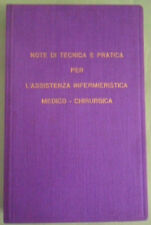 NOTE DI TECNICA E PRATICA PER L'ASSISTENZA INFERMIERISTICA.MILANO-NIGUARDA 1977