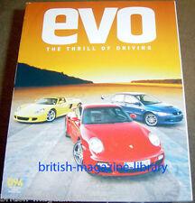 Evo Magazine Issue 94 - Porsche 997 Turbo vs Carrera GT vs Evo IX FQ-340