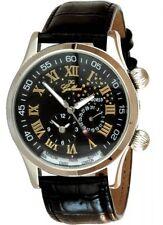 Gallucci Automatik-Uhr Modell Starworld Dualtimer Herrenuhr