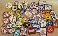Vintage Soccer Patches Lot 42 Cincinnati Ohio Kentucky Michigan Missouri