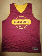 Arizona State Sun Devils ASU Basketball Team Nike Jersey LG L