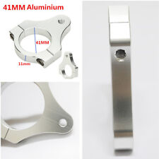 41mm Aluminium Steering Damper Fork Frame Mounting Clamp Bracket for Motorcycles