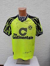 Borussia Dortmund Trikot Heim 1994/95 Nike M S Shirt Camisola signiert Camiseta