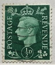 Great Britain stamps - King George VI 1/2d 1951