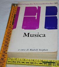 STEPHAN Rudolf - MUSICA - Fischer 10  Feltrinelli - libri usati