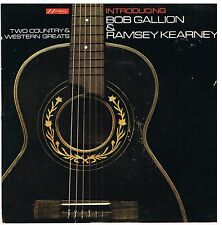 BOB GALLION & RAMSEY KEARNEY Two country & western greats Hickory LPE 1508