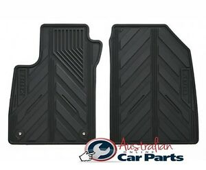 Floor Mats Rubber suits HOLDEN TRAX New Genuine All Weather 2013-2019