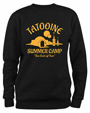 Styletex23 Sweatshirt Herren Visit Tatooine Summer Camp, Two Suns Of Fun
