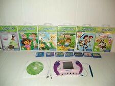LeapFrog Leapster 2 Purple Game Learning System Dora Explorer 13 games