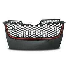 CALANDRE SPORT Grill rayon GTI STYLE ROUGE nettoyer pour VW GOLF 5 V