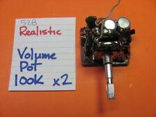 REALISTIC RECEIVER  STA-52B VOLUME POT 100K x2