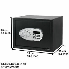 Electronic Black Safety Security Box Keypad 0.5CF Gun Digital Safe Box Drawer