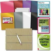 Cricut Everyday Vinyl & Wood Pallet with Weeding Tool, Designs and Digital Guide
