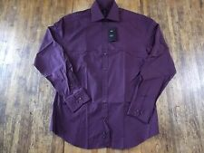 NWT Mens (XL) H&M Maroon L/S Single Pocket Reg. Fit Buttonfront Dress Shirt