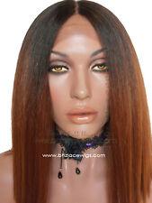 Two-tone deep part lace front wig bob Nicki Minaj lace wig yonce lace wig sza