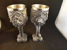 Mystic Collection Dragon wine goblets