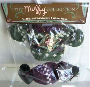 HOPPY Vanderhare SLEDDIN' and SKIDDADLIN', Muffy Collection Winter, Mint on Card