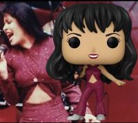 Funko Pop! Rocks Selena 205 Last Concert Glitter Burgundy/Red Dress IN HAND READ