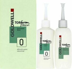 Goldwell Perm - Topform Biocurl Perm 0 for Difficult to Perm Natural Hair